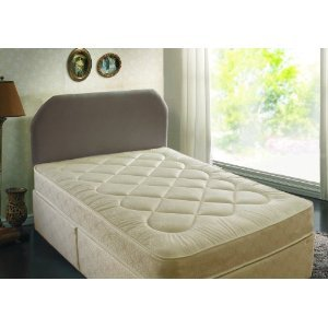 4FT6 DOUBLE DEEP QUILTED DIVAN BED WITH MATTRESS -GREAT BARGAIN