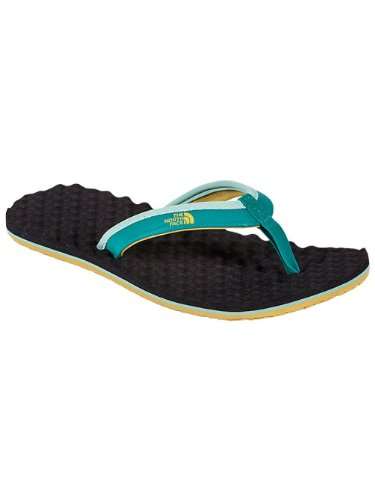 The North Face - Women'S Base Camp Mini Flip Flops Turquoise (Women'S Size: 7) front-743953