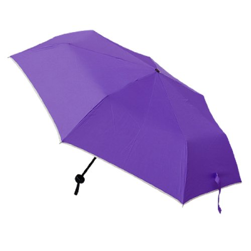 Purple Canopy Ladies' Portable Foldable Umbrella Brolly
