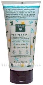 Earth Therapeutics Tea Tree Oil Foot Balm ~6 Oz