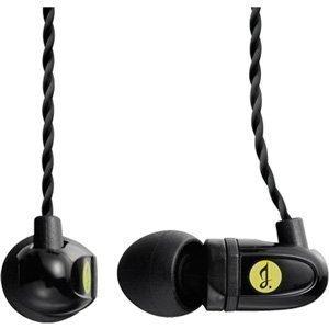 グリーンハウス 高音質 デュアル バランスド・アーマチュア型 カナルイヤホン ブラック GH-ERC-DMS