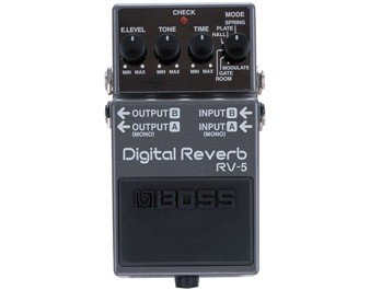 BOSS RV5 DIGITAL REVERB RV5