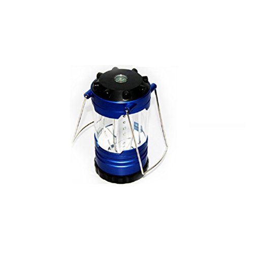 Nasis New Brand 12 Led Portable Camping Camp Lantern Light Lamp With Compass Al7005