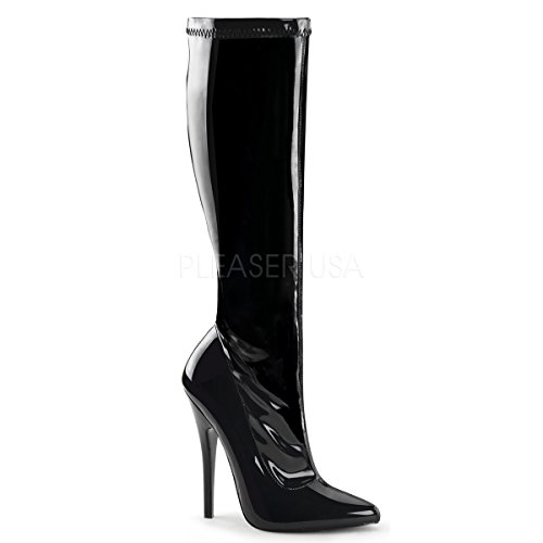 High-Heels-Stiefel: PleaserUSA High Heel-Kniestiefel Domina-2000