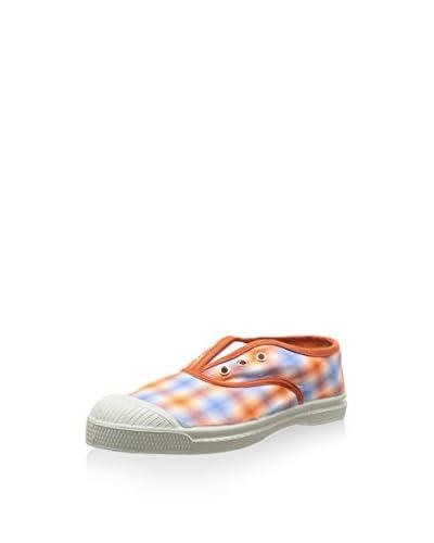 Bensimon Sneaker orange/hellblau/weiß
