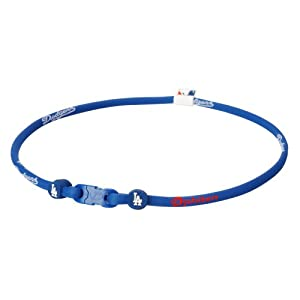 Phiten Mlb Authentic Bracelet Los Angeles Dodgers Medium 6 75 Inches