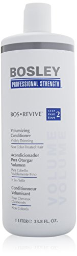 Bosley - Professional Strength Bos Revive Volumizing Conditioner (For Visibly Thinning Non Color-Treated Hair) 1000Ml/33.8Oz - Soins Des Cheveux