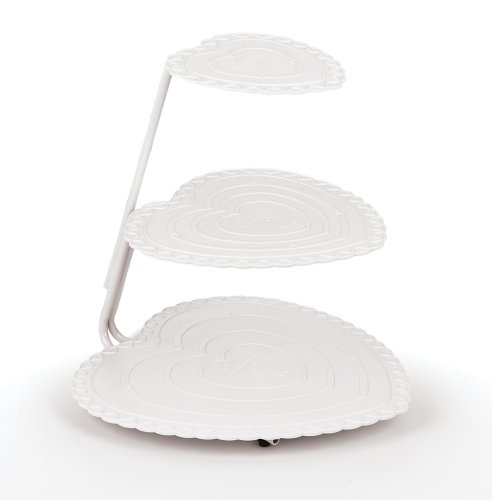 Wilton Heart Floating Tiers Cake Stand Set