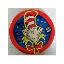 The Cat in the Hat Dessert Plates 8ct. - 1