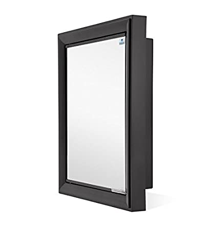 Nilkamal Gem Mirror Cabinet Black Available At Amazon For