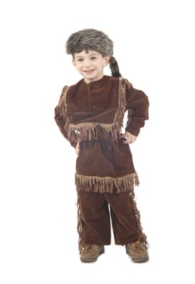 Child Daniel Boon/Davy Crockett Frontier Costume