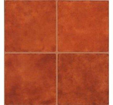 Orange floor tile