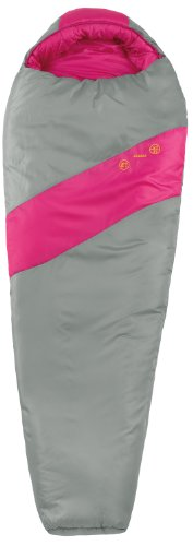 Eureka Azalea Sleeping Bag Pink/Grey Youth front-152101