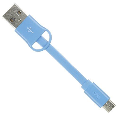 cavo-dati-e-ricaricaconnettore-micro-ubs-con-portachiavi-blu