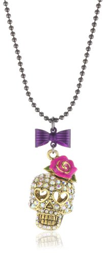 "Betsey Johnson ""Betsey The Vampire Slayer"" Necklace"