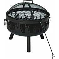 dib Global Sourcing FT-11202B Flame Fire Pit