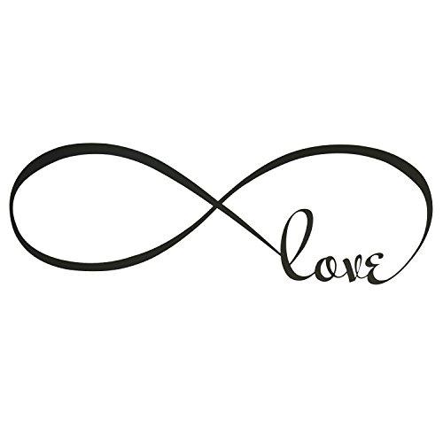 outus-amore-infinito-adesivo-da-parete-di-camera-da-letto-decalcomania-40-x-120-cm