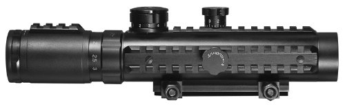 Find Cheap BARSKA Red Cross Electro Sight Riflescope (1-3x30)