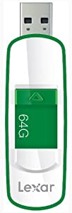 Lexar  JumpDrive S73 64GB USB 3.0 Flash Drive LJDS73-64GASBNA (Green)