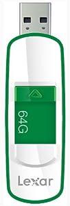 Lexar  JumpDrive S73 64GB USB 3.0 Flash Drive LJDS73-64GASBNA (Green)