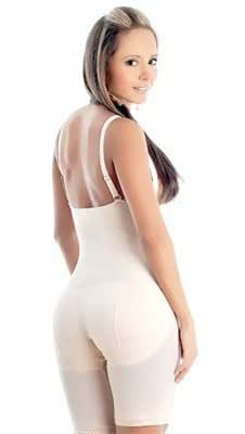 Ann Michell Braless Butt Lift Long Leg Body Briefer Style 1040 - Nude - 3XLarge