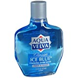 PACK OF 3 EACH AQUA VELVA AFTER SHAVE ICE BLU 3.5OZ PT#5310021132