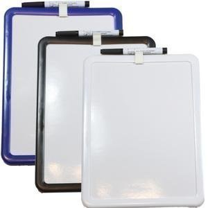 a4-magnetic-dry-wipe-clear-board-with-pen-marker-erase-write-white-blue-black