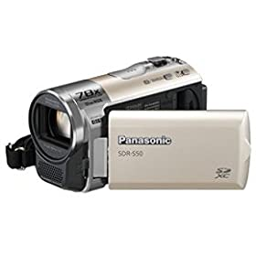 Panasonic SDR-S50N Std-Def SD Camcorder with 78X Zoom & Wide angle Lens (Gold)