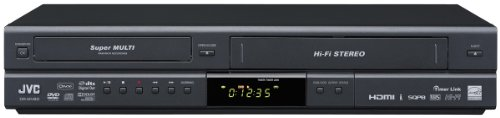 Buy Bargain JVC DR-MV80B DVD Video Recorder/VHS Video Cassette Recorder Combination Unit