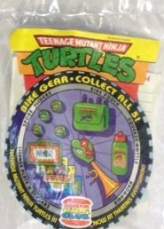 1993 Burger King TMNT Teenage Mutant Ninja Turtles Bike Gear Spoke Sliders - 1