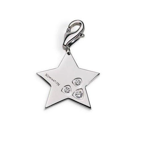 Nomination Pendente CHARMS (Stars) (Stella BIANCA profilo) (022416-039)