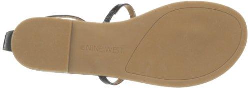 Nine West Women's Fischer Dress Sandal,Black,9.5 M US