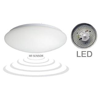led hf sensor deckenleuchte wandlampe deckenlampe bewegungsmelder us175. Black Bedroom Furniture Sets. Home Design Ideas