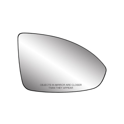 Fit System 80248 Chevrolet Cruze Right Side Manual/Power Replacement Mirror Glass with Backing Plate (2012 Chevy Cruze Mirrors compare prices)