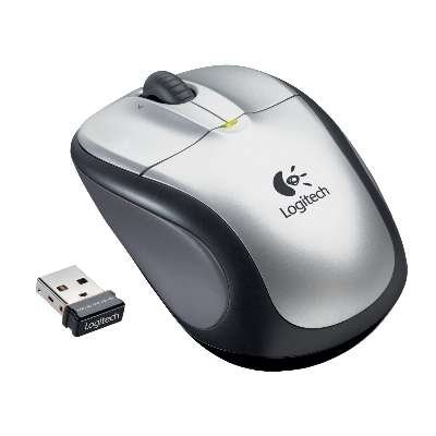 Logitech M305 Wireless Mouse (Silver)