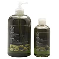 The Body Shop Olive Shower Gel Jumbo, 25.3-Fluid Ounce by The Body Shop