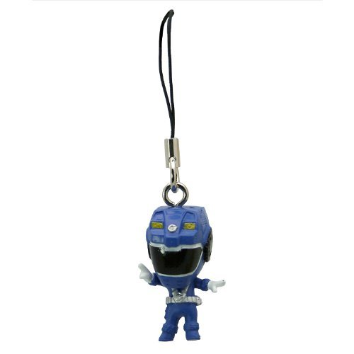 Picture of Bandai Blue Ranger - One Power Ranger: R.P.M. (Engine Sentai Go-Onger) Mini-Figure Charm (Japanese Import) (B001KYN4EO) (Power Rangers Action Figures)