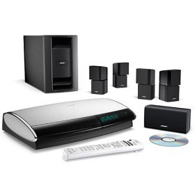 Factory-renewed Bose® Lifestyle® 28 Series III home entertainment system - Black