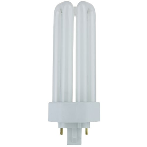 Sunlite PLT26/E/SP27K 26-Watt Compact Fluorescent Plug-In 4-Pin Light Bulb, 2700K Color