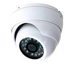 1/3-Inch Sony Color Ccd 3.6Mm Lens 480 Tv Lines 24 Ir Led, Weather Resistant Plastic Dome, White Color, !!! Made In Korea, Not China, With Genuine Japanese Chipset !!! Buy A Genuine Sony 480 Tvl Dome Camera At The Price Of A 420 Tvl Camera !!!