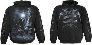 Spiral Direct Mens Live Now Pay Later Sweatshirt Hood Top Black XXL 52-54