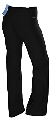 Adidas Women's Ultimate Slim Fit Work Out Yoga Pants-Black
