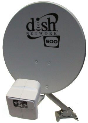 DISH Network Satellite 500 w/ DPP Twin Pro Plus LNB by Dish Network