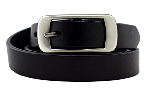 KaLeido Women's Head Layer Cowhide Leather Belt (32-34, Black) (Belt Women Leather compare prices)