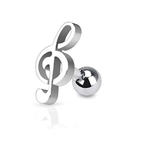 Paula-Fritz-Ohr-Tragus-Hantel-aus-Edelstahl-Chirurgenstahl-316L-Form-Musik
