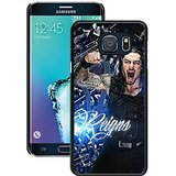S6 Edge+ Cases Designed With Wwe Superstars Collection Wwe 2k15 Roman Reigns 04 Black Case for Samsung Galaxy S6 Edge Plus (Wwe Superstar Edge compare prices)