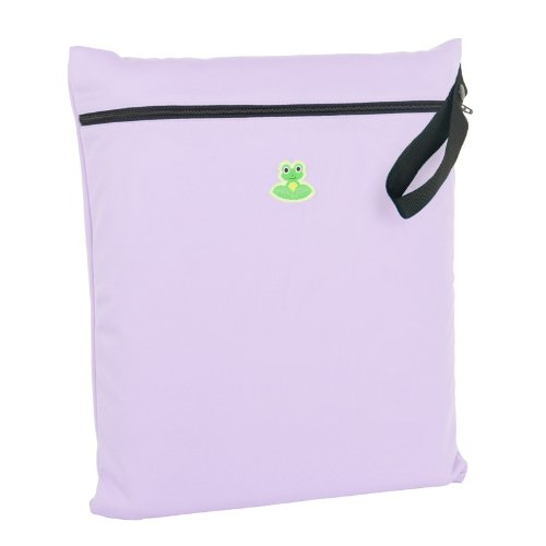 GO-FLUFF Wet Bag (Non-Minky)  13 x 14.75 inches (Lilac Frost)
