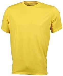 James & Nicholson Active - Camiseta para hombre, tamaño S, color amarillo