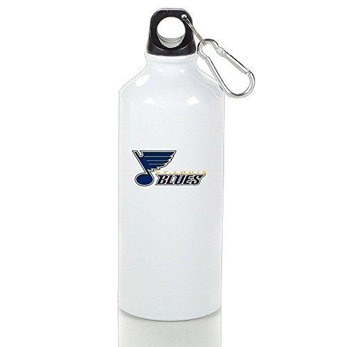 Rong T-shirts 2016 Hockey St. Louis Blues Logo Sports Water Bottle White