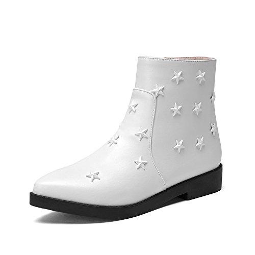 balamasa-ladies-square-heels-zipper-rivet-white-imitated-leather-boots-25-uk